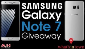Samsung Galaxy Note 7 Giveaway by Android Headlines What's in Town.png 300x175 - Samsung Galaxy Note 7 Giveaway by Android Headlines & What's in Town