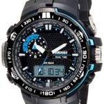 Skmei Analog-Digital Multi-Colour Dial Unisex Watch