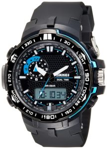 Skmei Analog Digital Multi Colour Dial Unisex Watch 215x300 - Flat 60% off on Skmei Watches