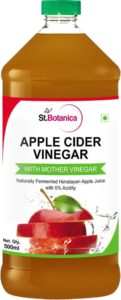 St.Botanica Natural Apple Cider Vinegar with Mother Vinegar 500 ml for Rs 299 40 Off at Amazon 121x300 - St.Botanica Natural Apple Cider Vinegar with Mother Vinegar - 500 ml for Rs 299 (40% Off) at Amazon