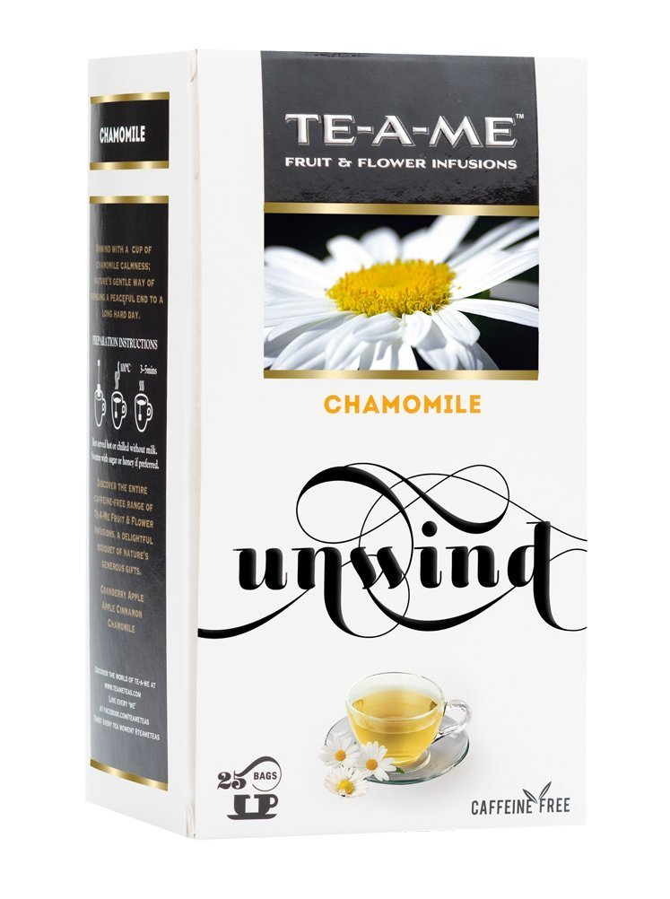 TE-A-ME Chamomile Infusion Tea Pack of 25 Tea Bags for Rs 112 (50% Off) at Amazon