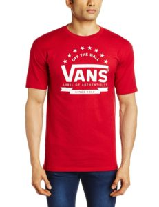 Vans Clothing at Flat 70% Off on Independence Day at Amazon