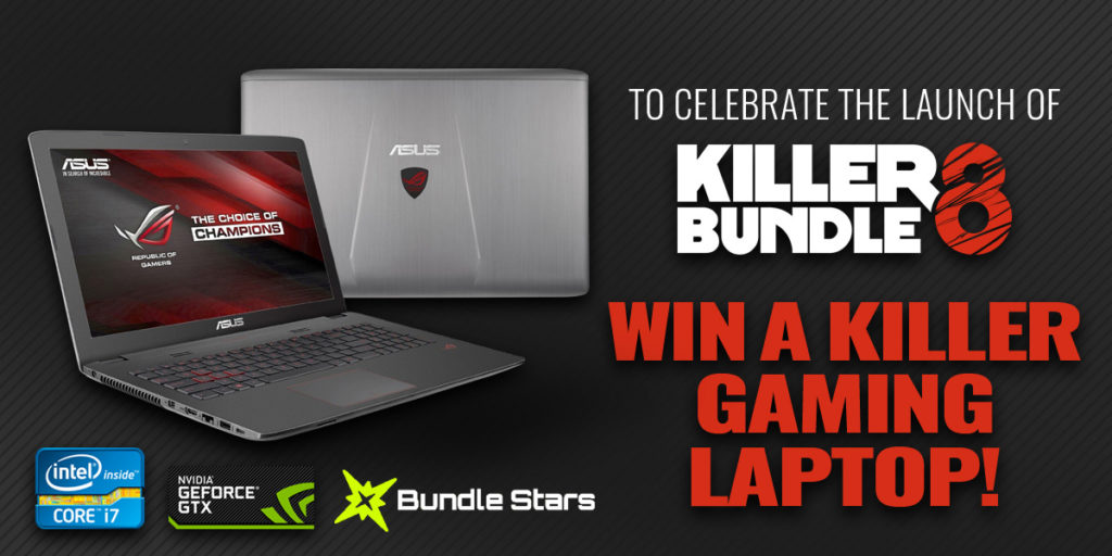 Win a KILLER Gaming Laptop Giveaway by Bundlestars 1024x512 - Win a KILLER Gaming Laptop Giveaway by Bundlestars