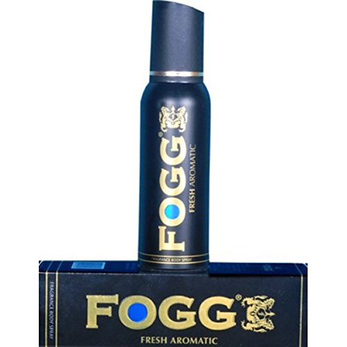 Fogg Fresh Aromatic Body Spray Deodorant For Men, Black, 120ml for Rs 166 at Amazon