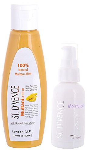 ST.D'VENCÉ Multani Mitti Lotion with Natural Rose Water – 100 ml for Rs 99 (53% Off)