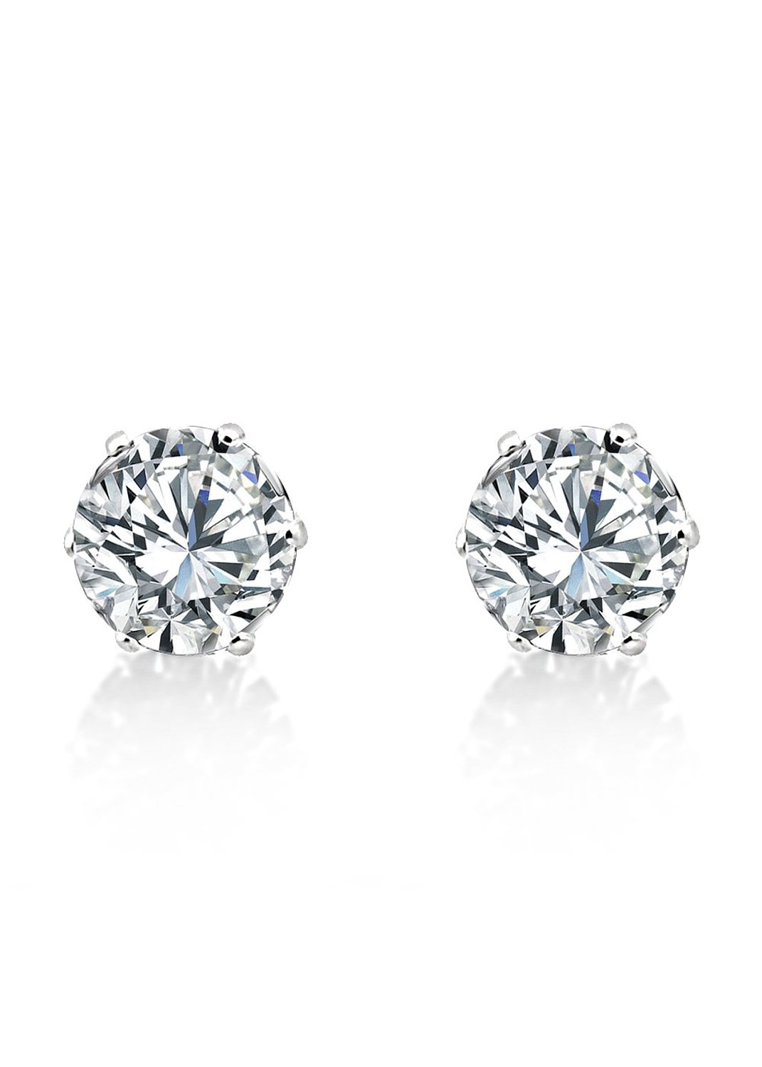 Big Tree Copper Stud Earring For Women (Silver) for Rs 179 (66% off)