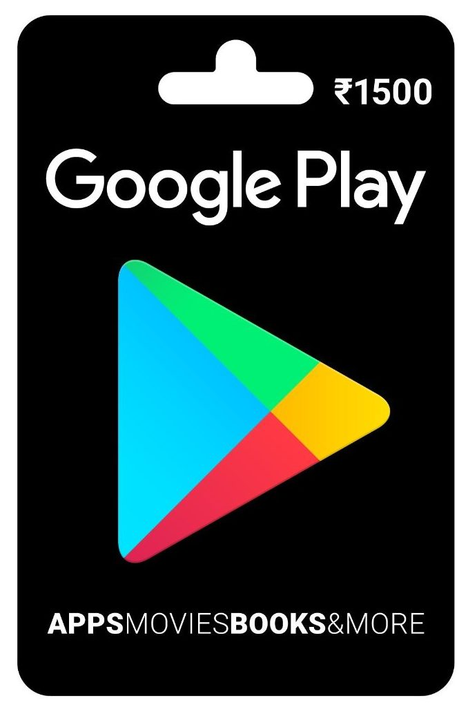 Google Play Gift Card at 10% Off on Amazon