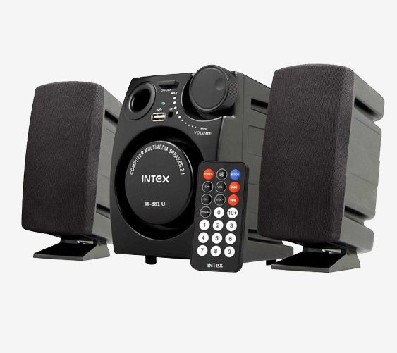 Intex IT 881S 2.1 Computer Speaker (Black) for Rs 499 (80% Off) at Tata CLiQ