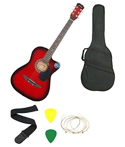 Jixing 6 Strings Acoustic Guitars With Combo for Rs 2399 (66% off)