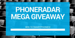Win 10 Android Smartphones Mega Giveaway By PhoneRadar 300x152 - Win 10 Android Smartphones - Mega Giveaway By PhoneRadar