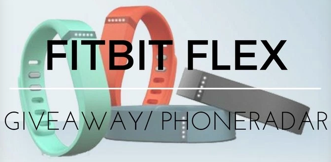 15 Fitbit Flex Fitness Bands Giveaway by Phone Radar