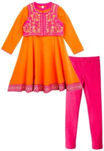 lilposh Anarkali Dress with Shrug 206x300 - Flat 50% off on Babyoye Kids clothing at Amazon