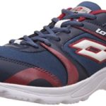 lotto mens pacer navy and red mesh running shoes 8 uk 150x150 - K London Men's Wallets 50% Off or More from Rs 99