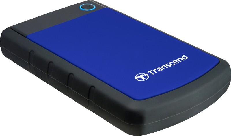 Transcend StoreJet 25H3B 2 TB External Hard Disk (Blue)
