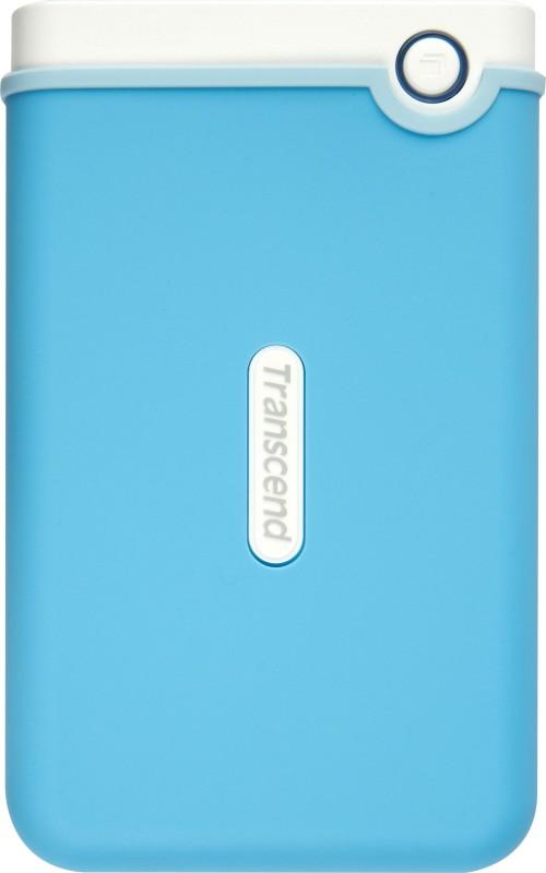 Transcend StoreJet 25M3B 2.5 inch 1 TB Auto-Backup Drive (Light...