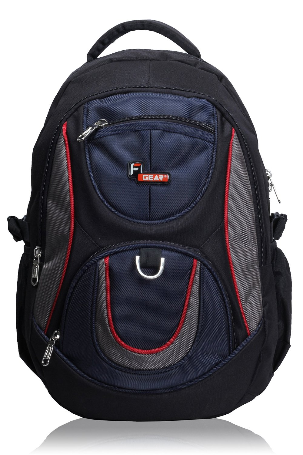 F Gear Polyester 29Litres Black Blue School Bag for Rs 728 (61% off)
