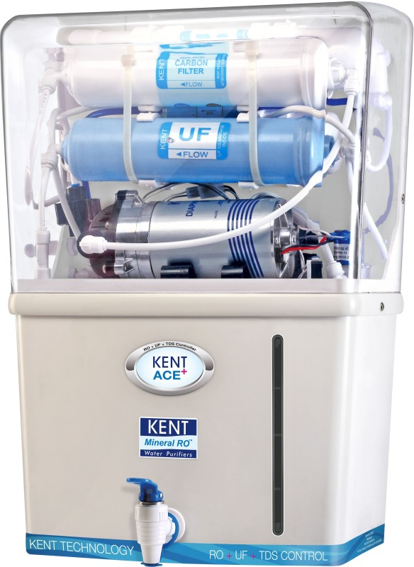 Kent Ace+ 7 L RO + UF Water Purifier (White, Blue) for Rs 8999