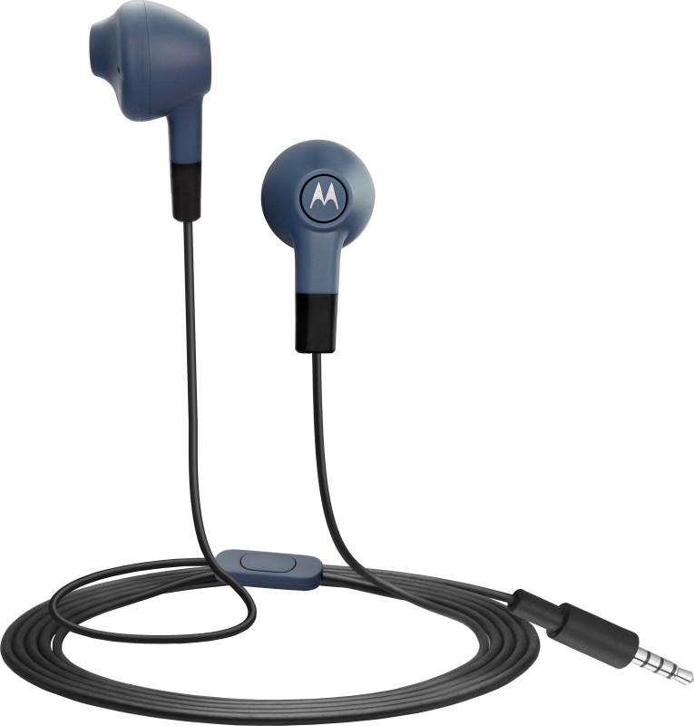 Motorola Lumineers Wired Headset With Mic(Slate)
