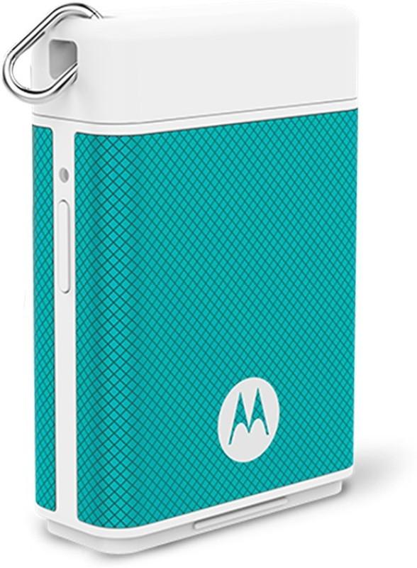 Motorola P1500 Micro Power Pack 1500 mAh Power Bank(Turquoise)