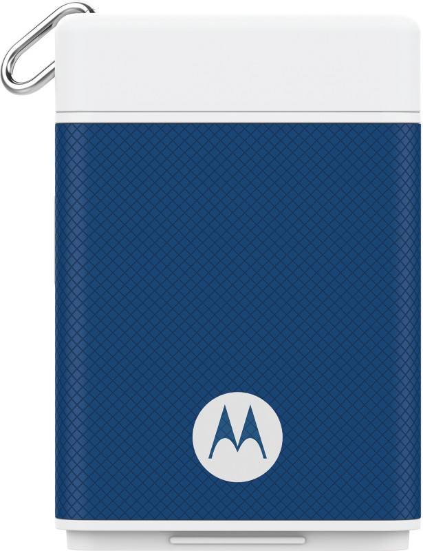 Motorola P1500 Power Pack Micro 1500 mAh Power Bank(Blue)