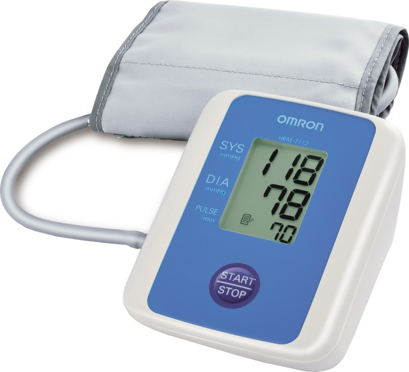 Omron HEM-7112 BP Monitor(White)
