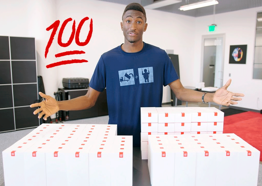100 OnePlus 3T Mega Giveaway by MKBHD, OnePlus and Dbrand