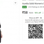 Aurelia Solid Women's Kurtis