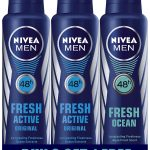 Nivea Fresh Active Deodrant, 150ml (Buy 2 Get 1 Free)