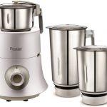 Prestige Teon 750 W Mixer Grinder (White, 3 Jars)