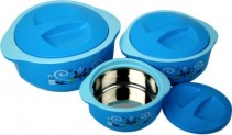 Cello Hot Meal Insulated Pack of 3 Casserole Set for Rs 549 (54% off)