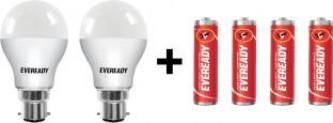 Eveready B22D LED 10 W Bulb(White, Pack of 2) for Rs 299 (45% Off) at Flipkart