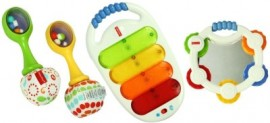 Fisher-Price Musical 3 Pack Combo Gift Pack – White for Rs 1,061 (41% off)