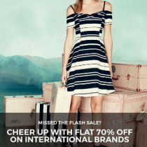International Women's Clothing Brands at Flat 70% Off on Tata CLiQ