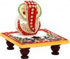 JaipurCrafts Designer Lord Ganesha Chowki for Rs 249 (75% off)