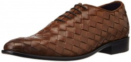 Louis Philippe Men's Leather Shoes at flat 70% off