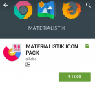 MATERIALISTIK ICON PACK for Rs 15 only on Google Play Store