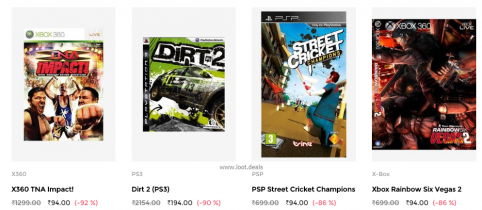 PC, Xbox, PS Games at Up to 92% Off on Tata CliQ