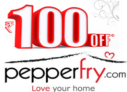 Rs 100 OFF on orders of Rs 200 or More on PepperFry for All Users