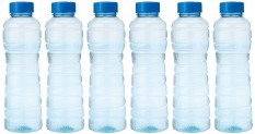 Princeware Victoria PET Fridge Bottle, 975 ml, Blue, Set of 6 for Rs 116 (48% off)