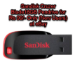Sandisk Cruzer Blade16GB Pendrive for Rs 99/- Only (New Users) at eBay