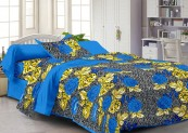 Story@Home 120 TC 100% Cotton Blue 1 Single Bedsheet with 1 Pillow Cover for Rs 299 (63% off)