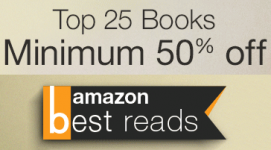 Top 25 Books of the Month at Minimum 50% Off for the Entire Month