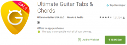 Ultimate Guitar Tabs & Chords for Rs 10 Only on Google Play Store