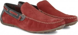 U.S. Polo Assn. Men Loafers (Red) for Rs 1585 (53% off)