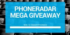 Win 10 Android Smartphones – Mega Giveaway By PhoneRadar