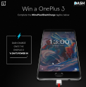 Win a OnePlus 3 Contest by OnePlus