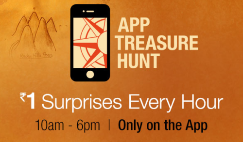 Get Surprise Lighting Deal Every Hour At Rs.1 : Amazon App Treasure Hunt  Clueu0027s