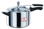 Bajaj Majesty Pressure Cooker with Inner Lid, 5 Litres  at 57% off