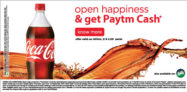 Buy Coke and Sprite and Get Upto 40 PayTM Cash Free