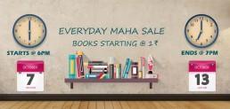 Get Free Books – Everyday Maha sale